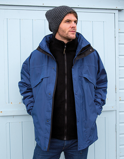 3-in-1 Zip & Clip Jacket